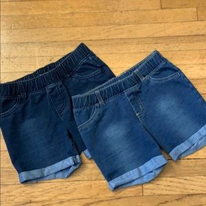 Lot of 2 Jegging Shorts